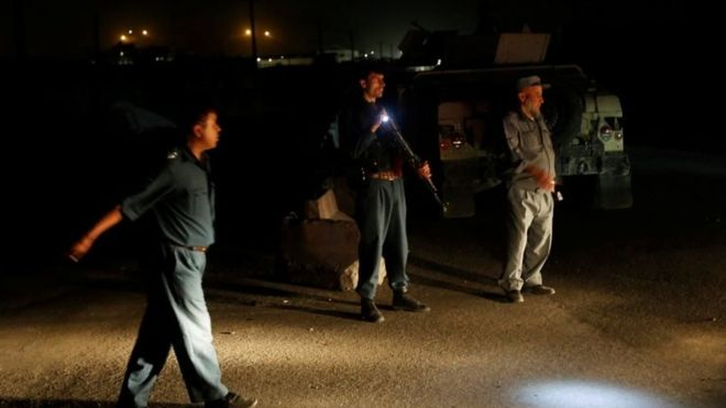 http://www.awwaaz.com/images/stories/Taliban targets Foreign Forces compound in Kabu,Several feared Dead