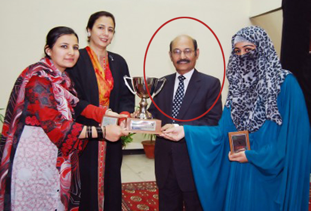 http://www.awwaaz.com/images/stories/Secondary Education Board Karachi Scam,Ex-Chairman is Nabbed.