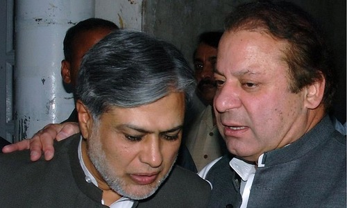 http://www.awwaaz.com/images/stories/Assets of Sharif Family and Ishaq Dar Frozen as NAB team raids Finance Minister Ishaq Dar's residence