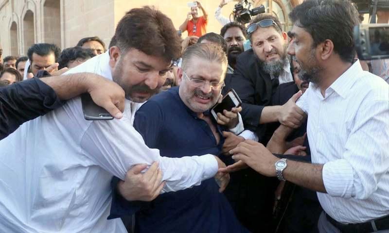 http://www.awwaaz.com/images/stories/NAB arrests Sharjeel Memon in Rs 5.77b corruption case